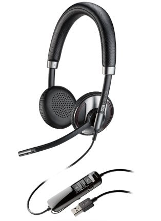 Plantronics Blackwire C725 USB Wired Headset With Active Noise Canceling - Headset Advisor