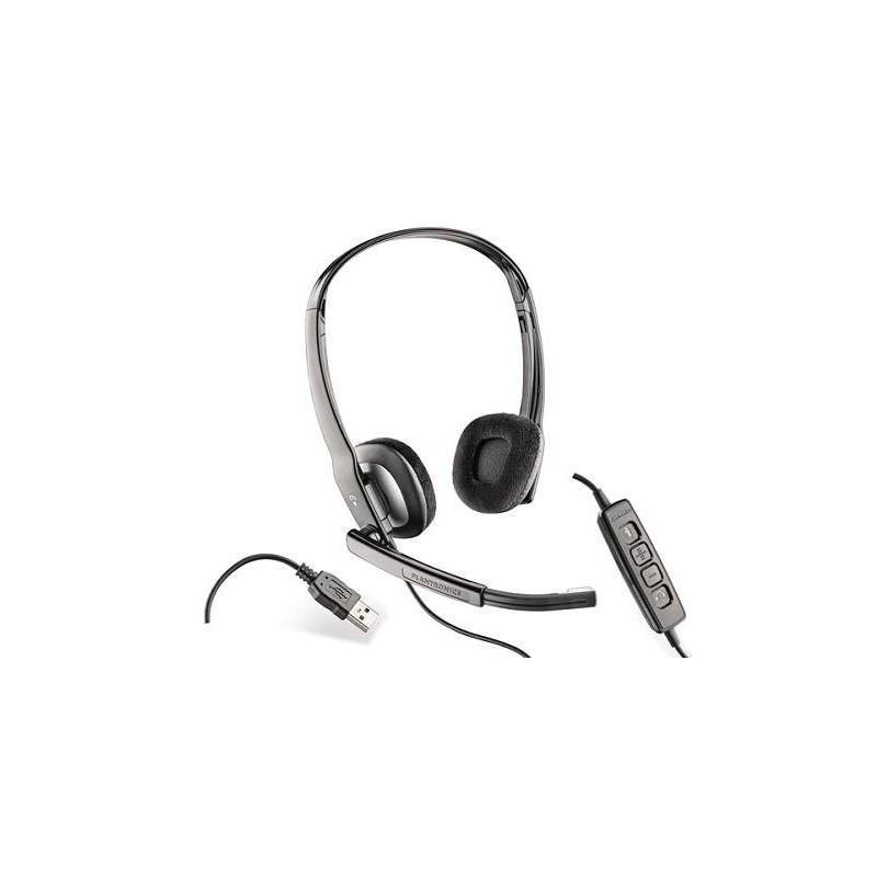 Plantronics C220 Wired USB Dual Speaker Headset (Renewed) - Headset Advisor