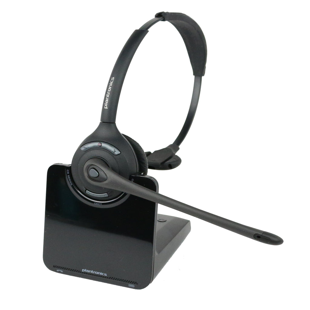 Plantronics Cs510 Single Speaker Wireless Office Headset For Desk Phon Headset Advisor
