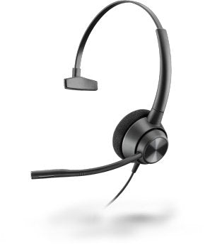 Plantronics EncorePro 310 Single Speaker Wired Office Headset (QD) - Headset Advisor