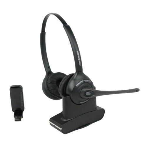 Plantronics Savi W420 Dual Speaker Wireless Headset For Computer - Headset Advisor