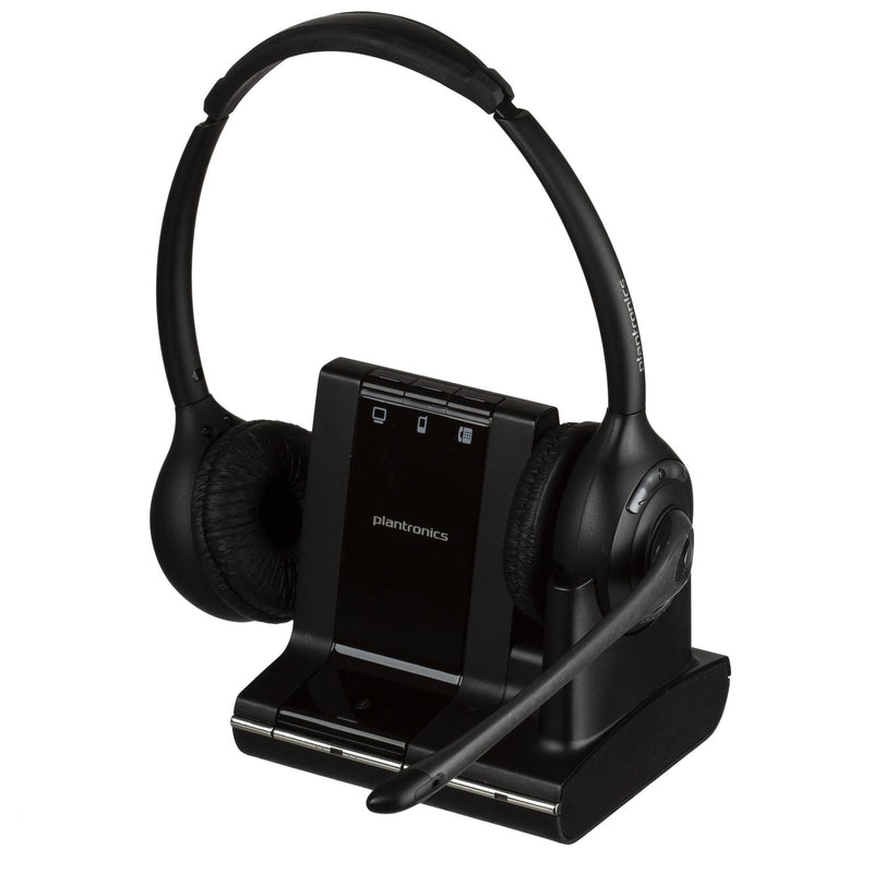 Plantronics Savi W720 Dual Speaker Wireless Office Headset For Desk Phone, Computer and Mobile - Headset Advisor