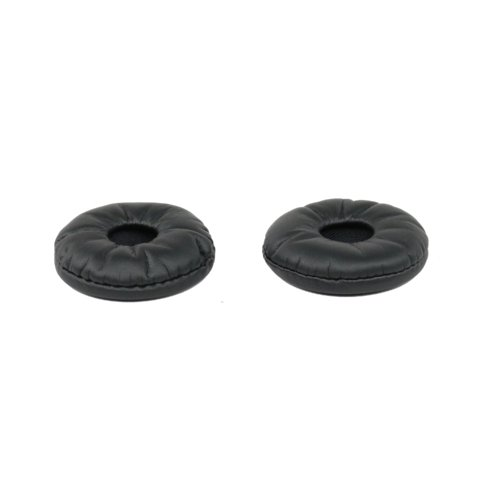 Replacement Leatherette Ear Cushions for Plantronics HW710 and HW720- 2 Pack - Headset Advisor