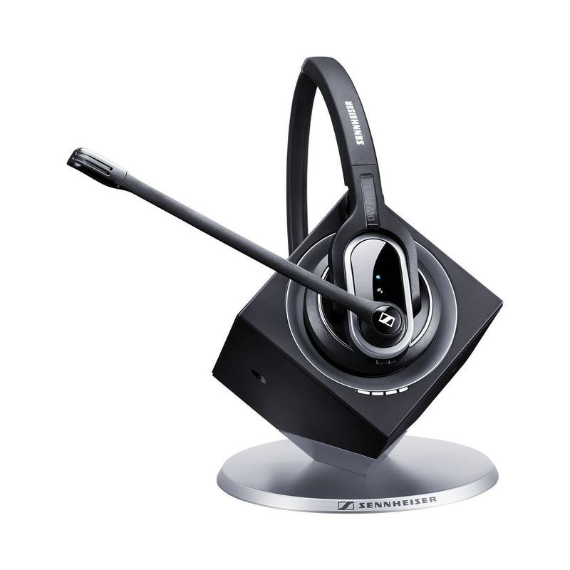 Sennhesier DW Pro 1 Single Speaker Wireless Office Headset - Headset Advisor