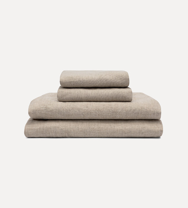 Linen Sheets Set - Flax