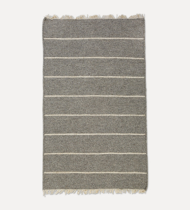 Warby Handwoven Rug Light Grey