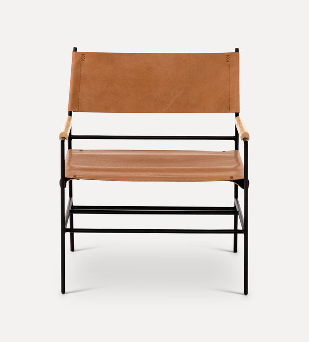 Eugenides Leather Chair