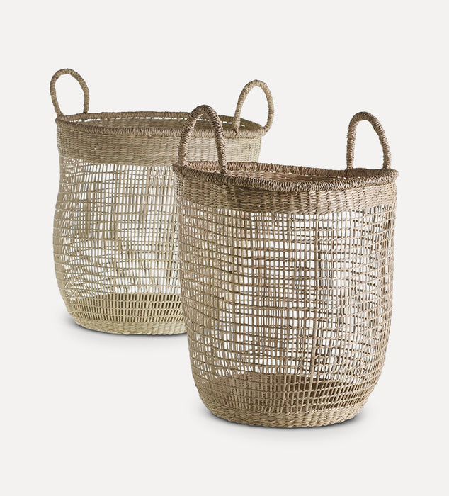 Finley Woven Handle Basket