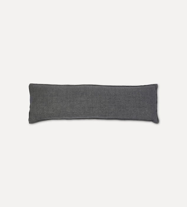 Montauk Body Pillow Charcoal