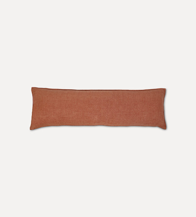 Montauk Body Pillow Terra Cotta