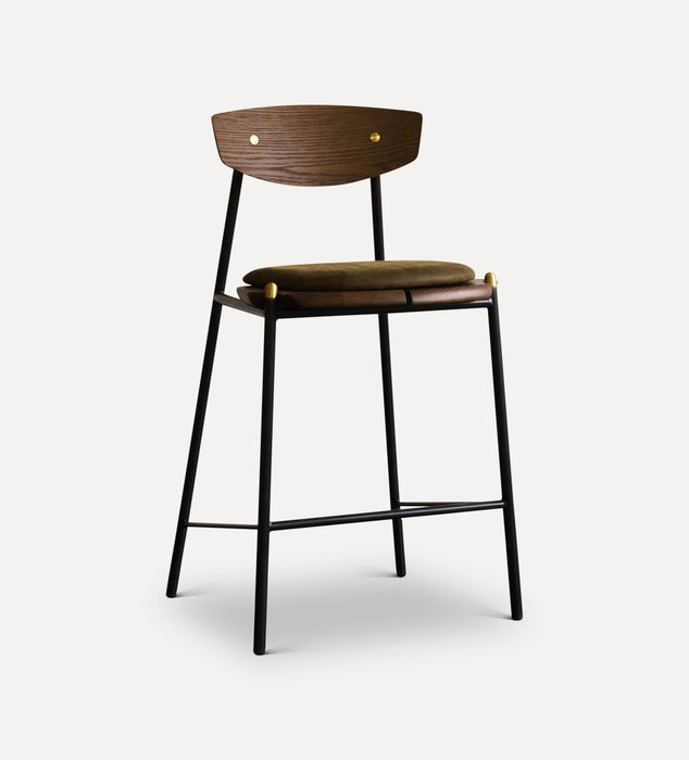 Allemande Bar Stool Dark Oak