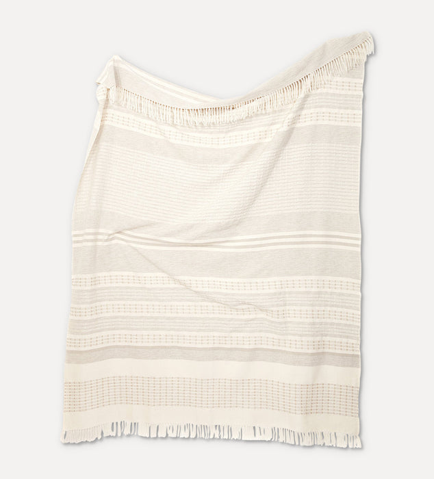 Paloma Throw in Cream