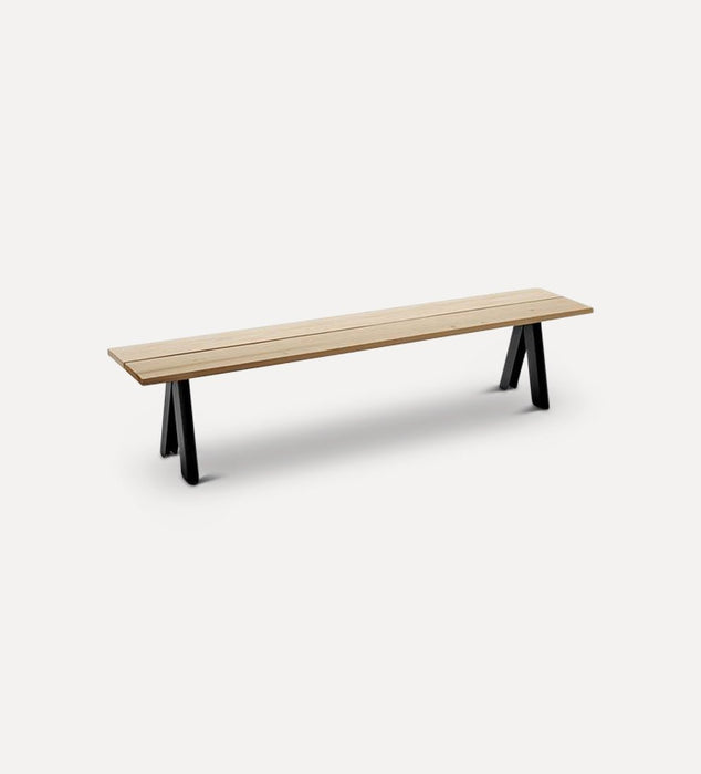 Overlap Outdoor Bench