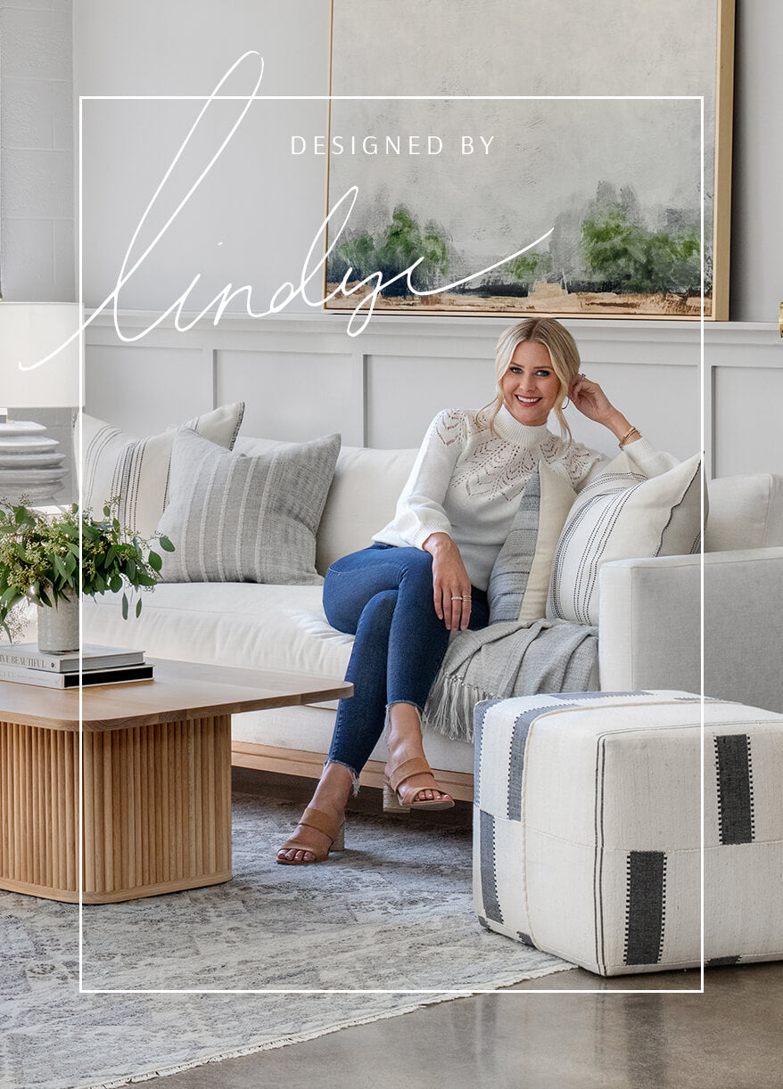 Exclusive home furniture line designed by Lindye
