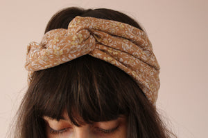 Turban liberty marron