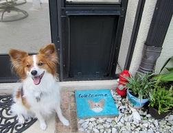 Personalized Pet Door Welcome Mat