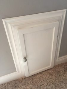 White Framed Door
