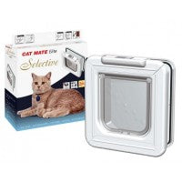 animate selective cat flap and box