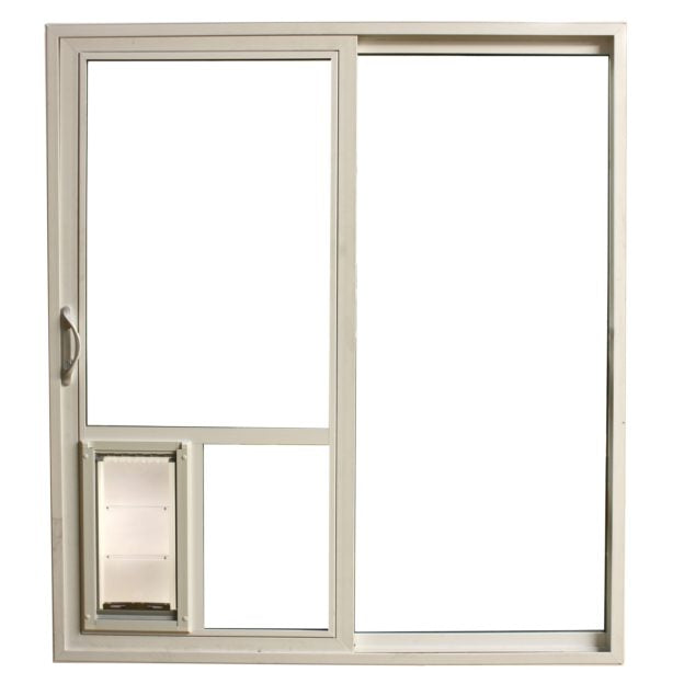 Insert a pet door directly in your sliding glass for optimum convenience!