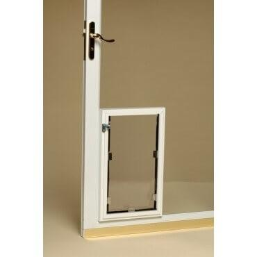 Hale Through the Glass Cat Doors for Glass Doors Double Flap