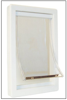 Ideal Original Pet Door with Clear Flap
