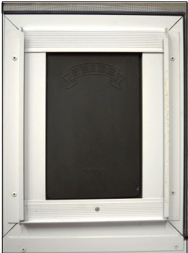 pride pet door for patio screen