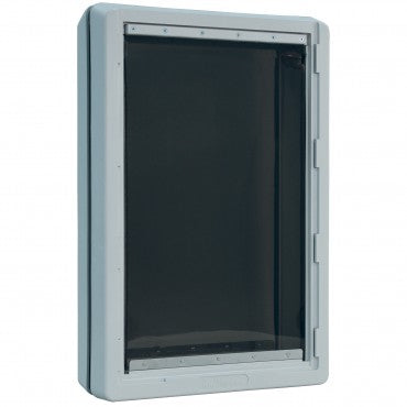 ruff weather pet doors are flexible flappers to help small pets go through easily