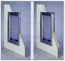 Self Framing Pet Door