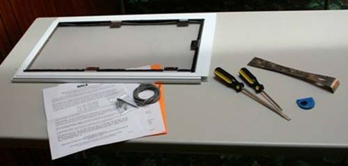 Hale Pet Door for Screen Complete Kit Includes