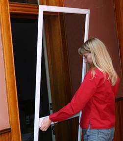 Installing Hale Pet Door for Screens - remove screen
