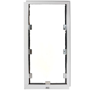 white hale cat door for screens