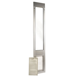 brushed aluminum Endura Flap Thermo Panel 3e with secure sliding locking cover