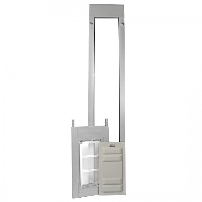 brushed aluminum endura thermo panel 3e with locking cover