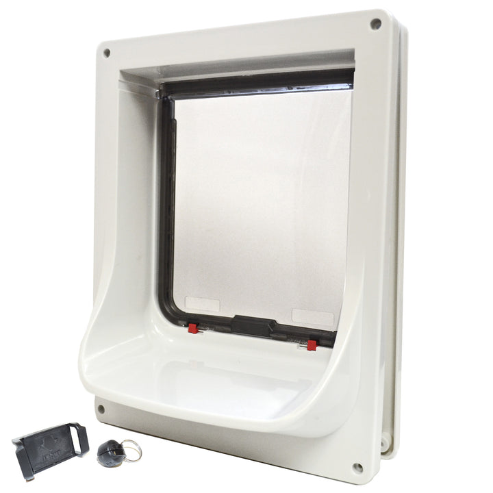 Cat Mate 363 electronic pet door back view