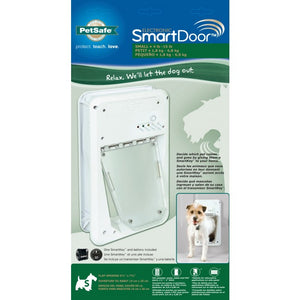 electronic dog door petsafe smart door is perfect for small dogs and cats