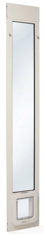 The Thermo Panel 2e Connect Door for Sliders with the Sureflap Microchip pet door and Hub