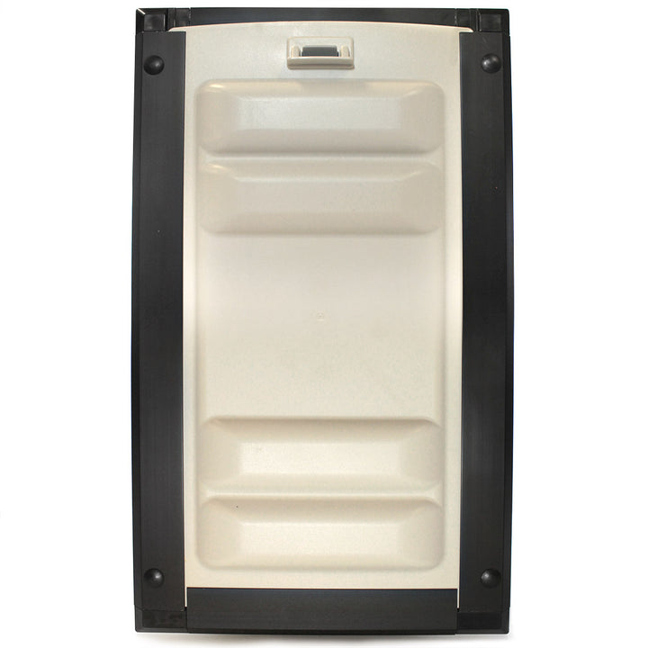 Endura flap pet door for doors locking cover