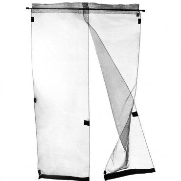hanging bugoff pet screen door flap open