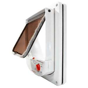 cat mate 254 electronic doo flap open