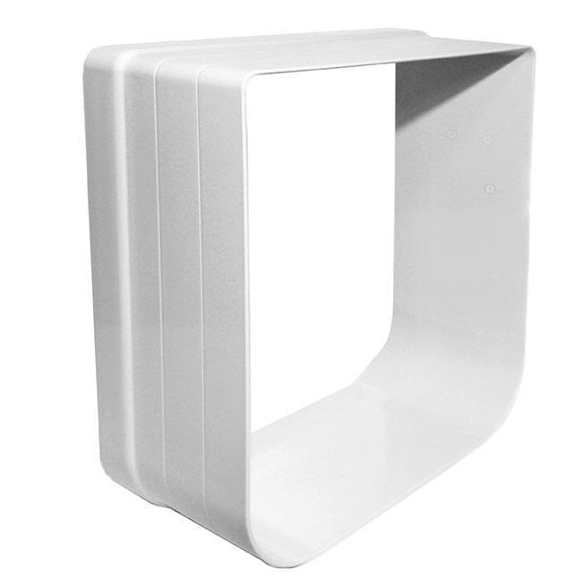 The Cat Mate 303 Wall Liner in white, which adds 2 inches to Cat Mate 234 and 235 doors