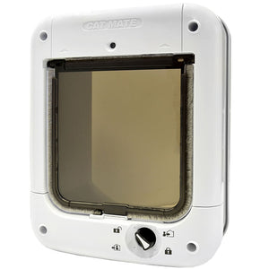 Cat Mate microchip cat door - four way locking and battery powered