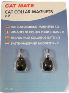 cat mate cat collar magnets package