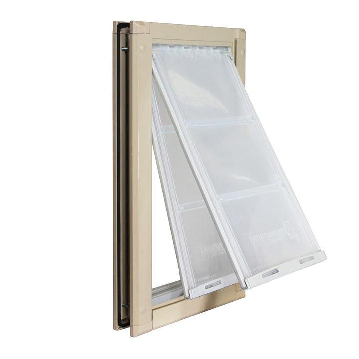 double flap endura pet door for doors