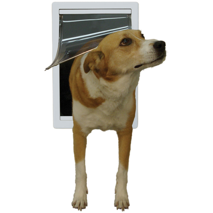 Size Medium; best doggie doors for a door with dog door