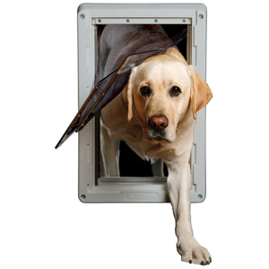 lab using ideal ruff weather pet door