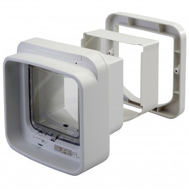 Sureflap DualScan microchip cat door protects home from unwanted critters