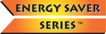 The logo for the Energy Saver series from Ideal Pet Door Products