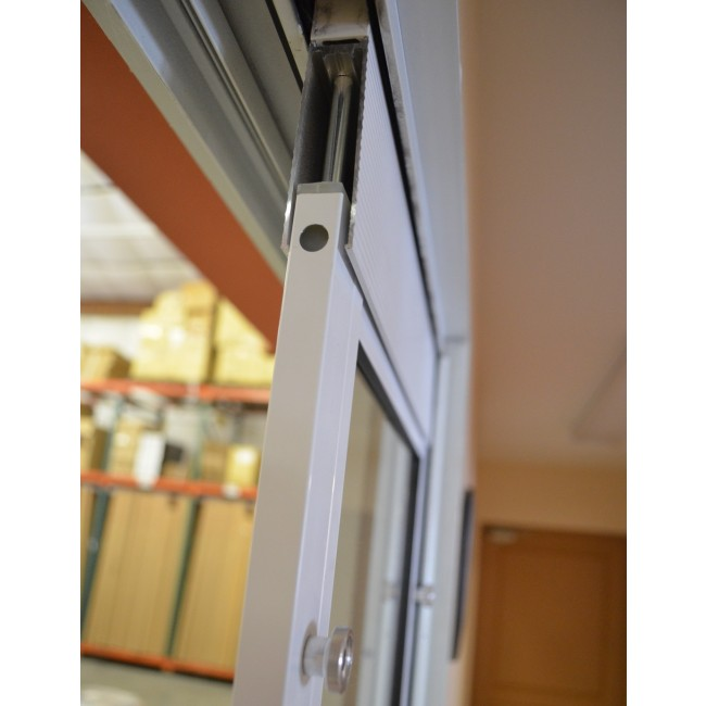 ideal fast fit patio pet door insert in sliding door track