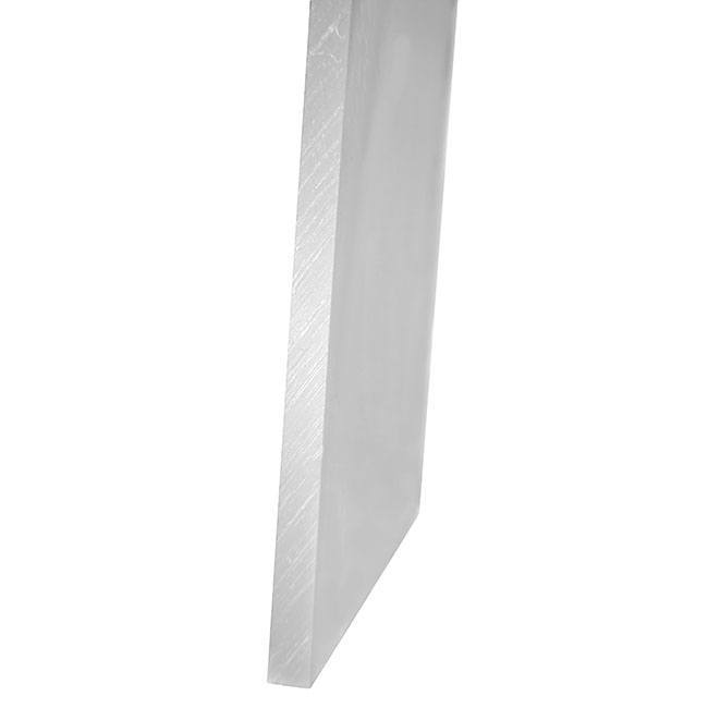 "zoomed in image of the gun dog guillotine 3/8"" thick polypropylene material"