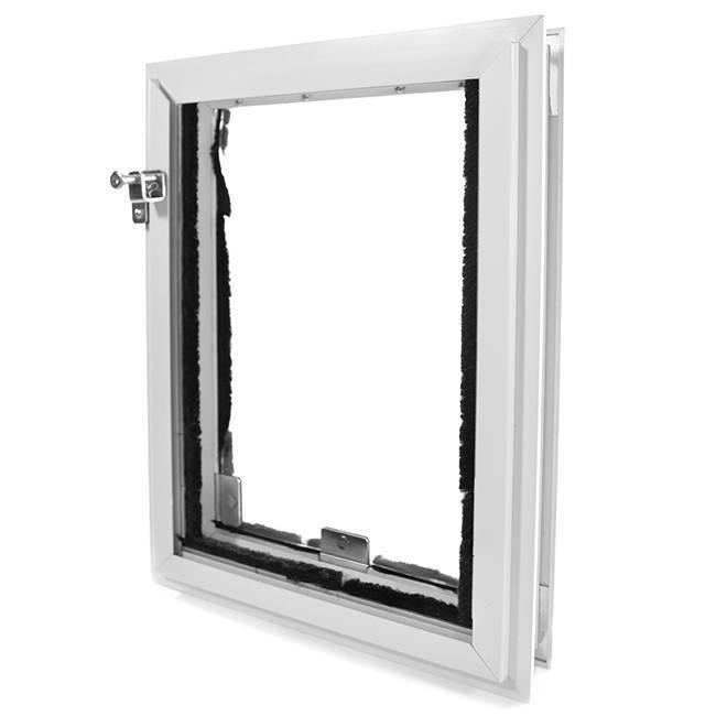 The weather tight Hale Cat Doors for Doors with a magnetic sealed flap